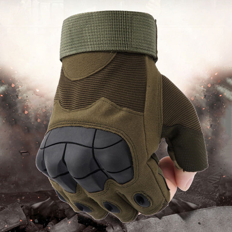 Outdoor Tactical Military Army Half Finger Men Gloves