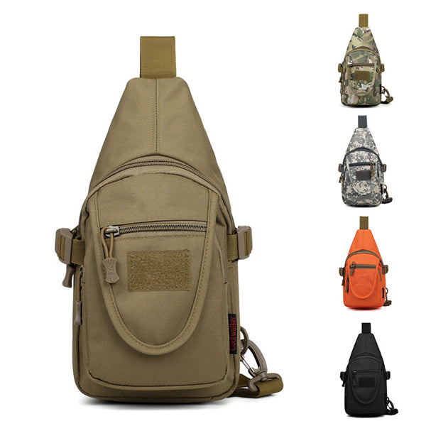 Leisure Sport Multi-pocket Camo Chest Bag
