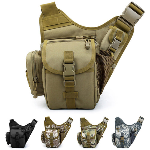 Waterproof Camo Exquisite Tactical Messenger Bag