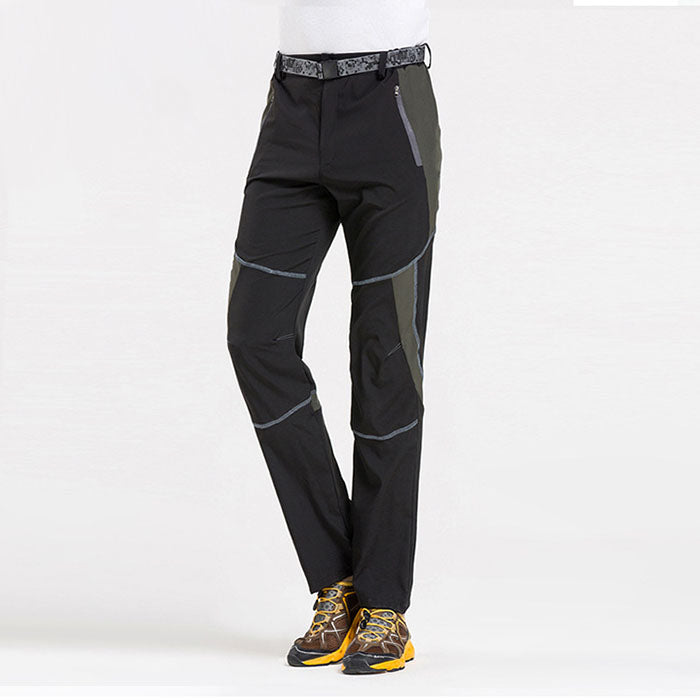Quick Drying Breathable Waterproof Elastic Men and Women's Pants