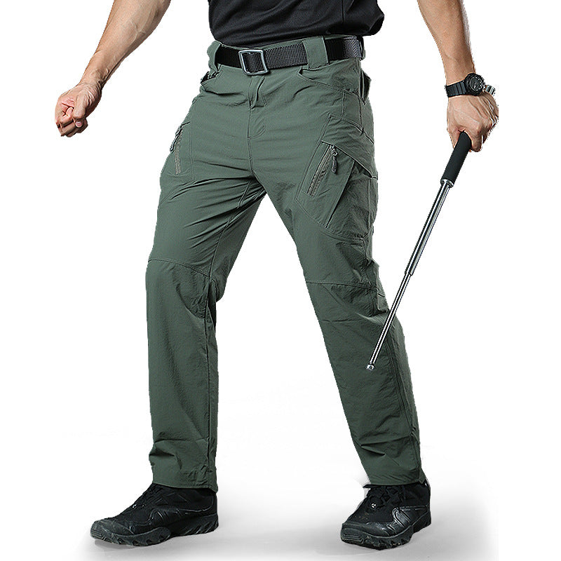 Tactical Military Style Slim Quick-Drying Men's Pants