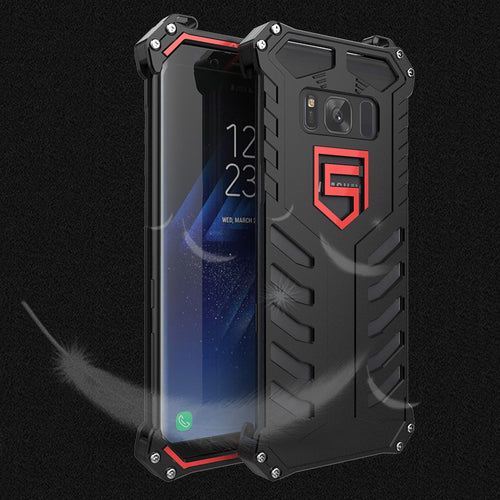 Cool Three Layer 360° Protection Phone Case Metal for SAMSUNG S8 and S8 Plus - KINGEOUS