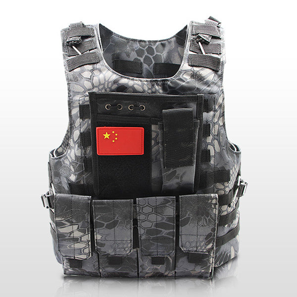 Military Tactical CS Detachable Adventure Vest
