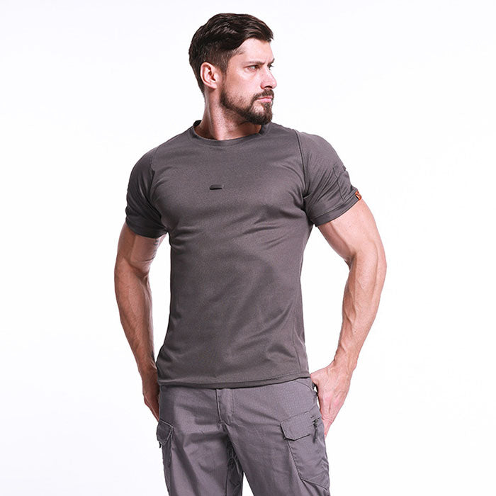 Outdoor Quick-drying Round Neck Field Tactical Men's T-shirt