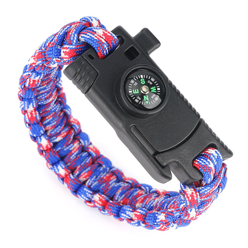 Multi-function Bracelet Survive Outdoor Emergency Rescue Hand Rope