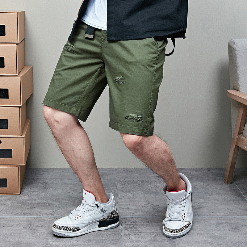 Fashion Embroidery Beach Men's Shorts