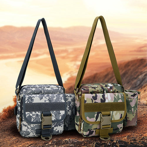Outdoor Multifunctional Splash-proof Shoulder bag With Kettle Bag
