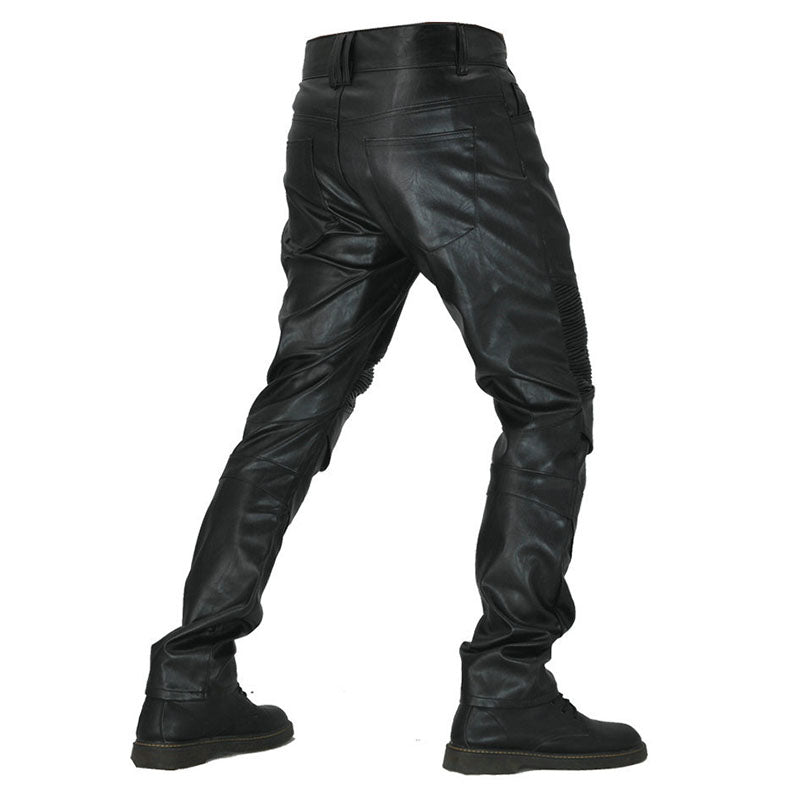 PU Waterproof Windproof Stretch Men's Motorcycle Pants