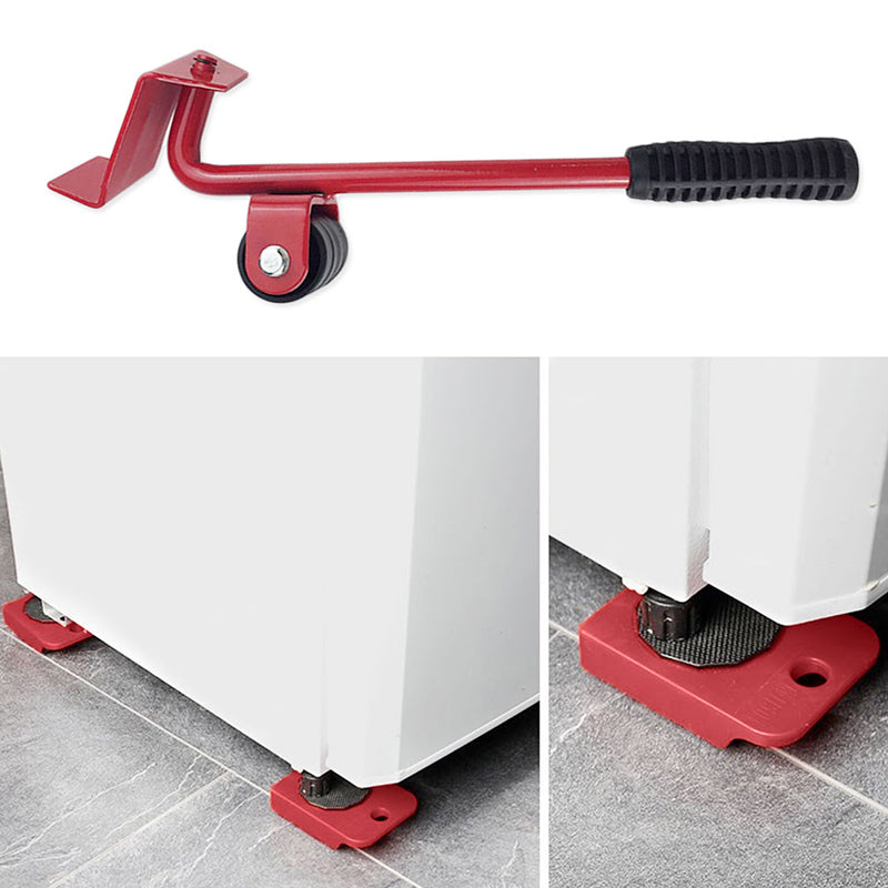 Wheel Bar Furniture Transport Lifter Household Hand Tool Set
