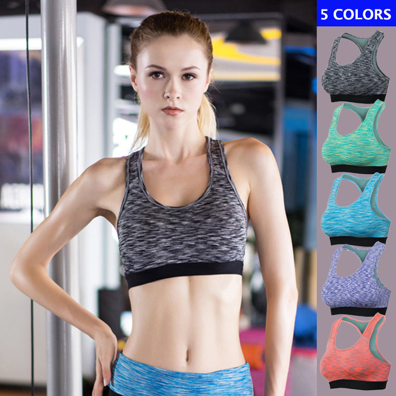 Fast Drying Elastic Women's Sportswear Bra