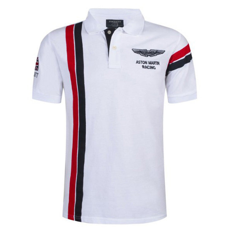 Air Force No.1 High Quality Embroidery Lapel Men's Polo T-shirt