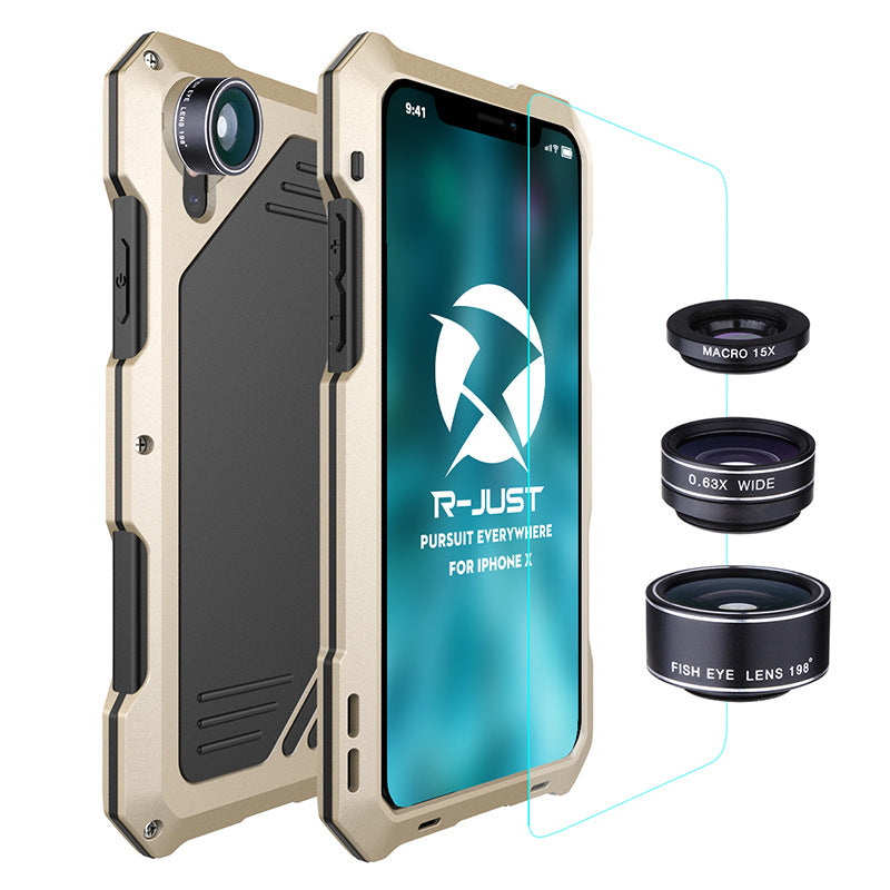 Three Layered Protection Phone Case for iPhone X