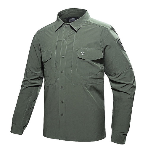Outdoor Mountaineering Tactics Quick-drying Men's Shirt