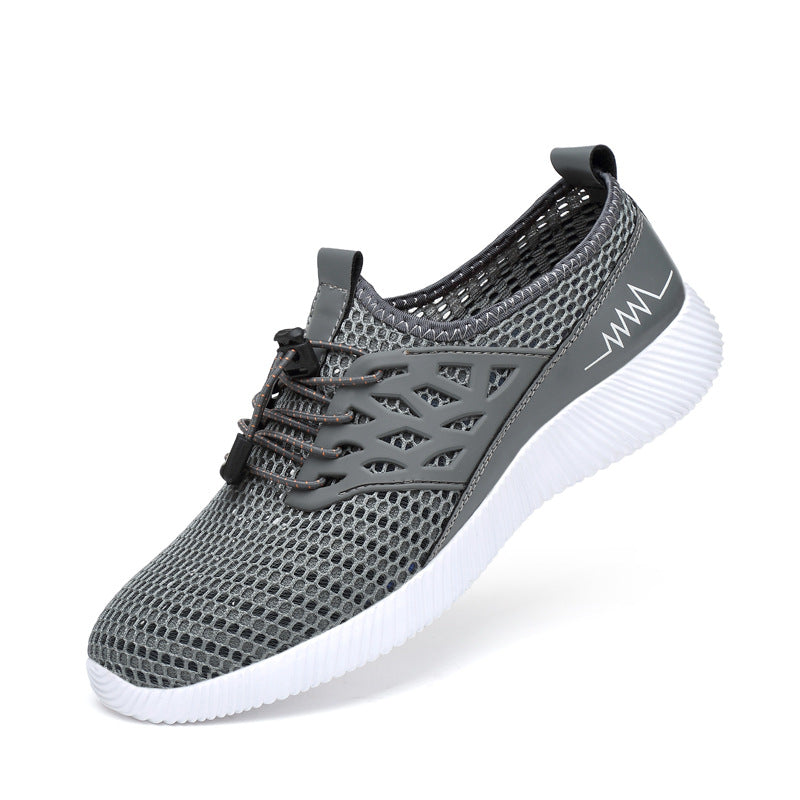 Fashionable Breathable Light Mesh Men's Shoes