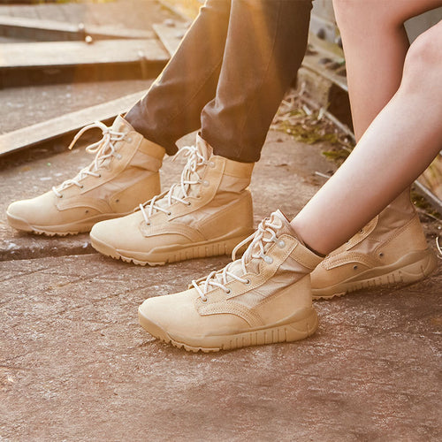 Tactical Military Non-slip Wear Sports Combat Men and Women Boots