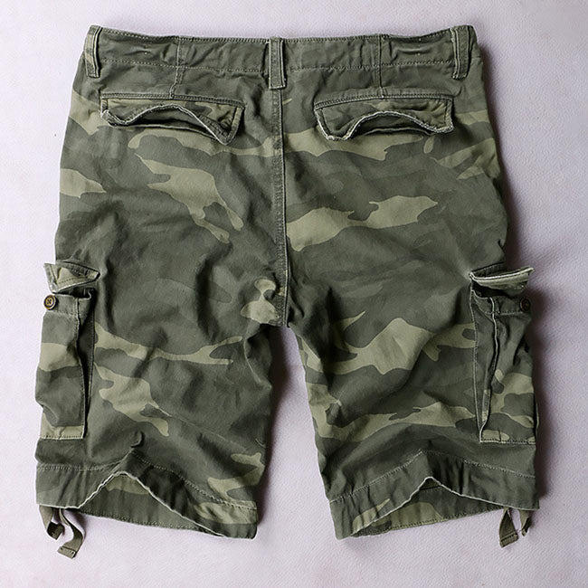 Outdoor Casual Cotton Men's Cargo Shorts
