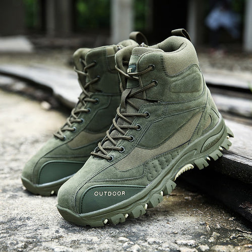 Tactical Military Combat Army Safety Ankle Men's Boots