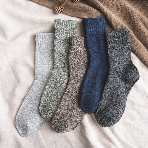 Fashion Breathable Solid Color Cotton Men's Sock