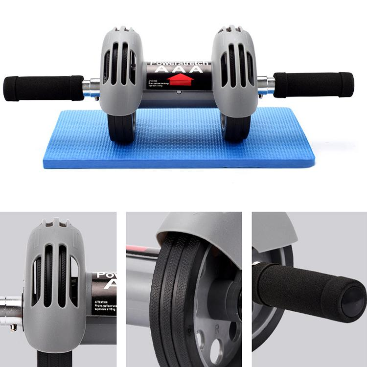 Abdominal Roller  Wheel Fitness Equipment Mute Roller For Arms Back Belly Core Trainer