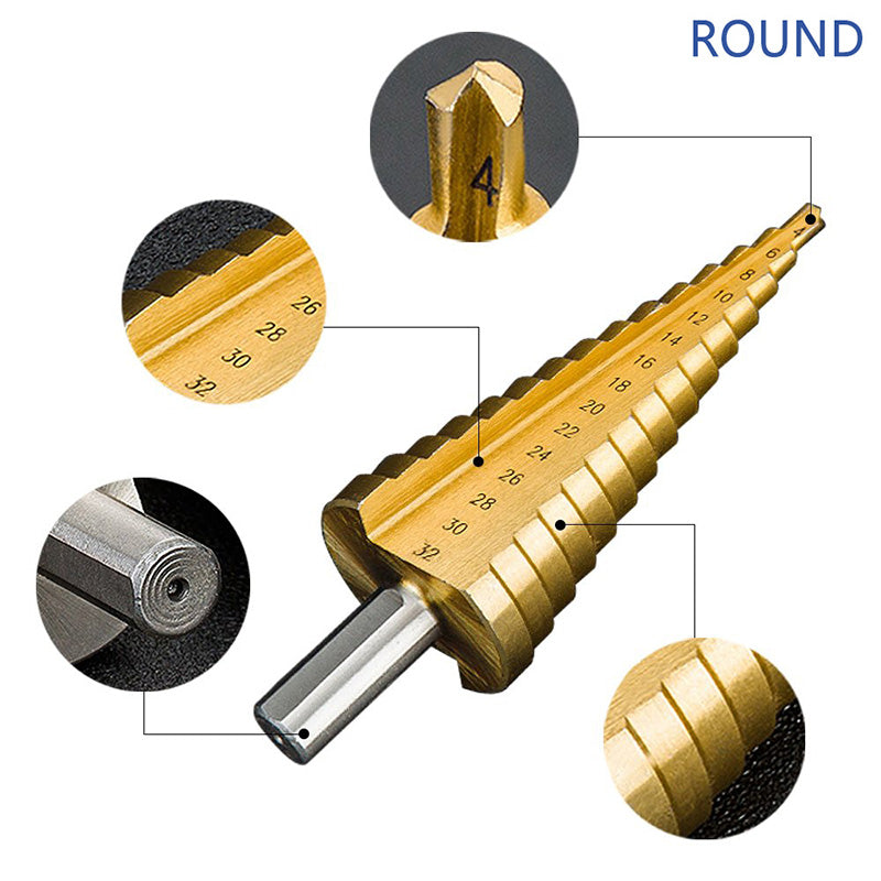 Mini Spiral Grooved Center Drill Bit Solid Carbide Accessories
