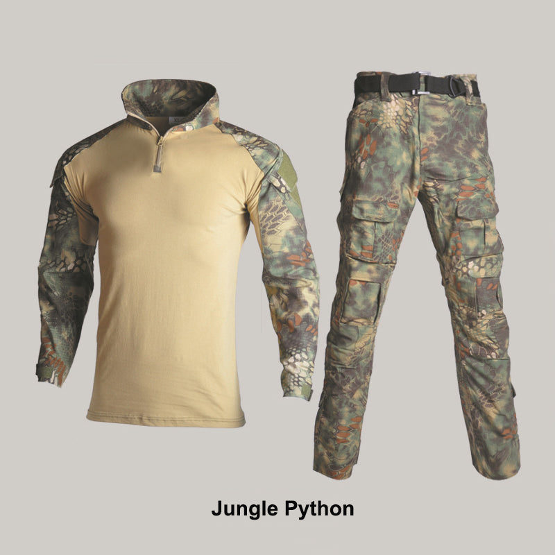 Special Tactical Training Tops and Pants Frog Men Suit