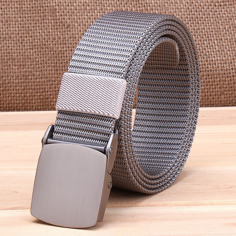 Outdoor Tactical Metal Buckle Quick-drying Nylon Belt