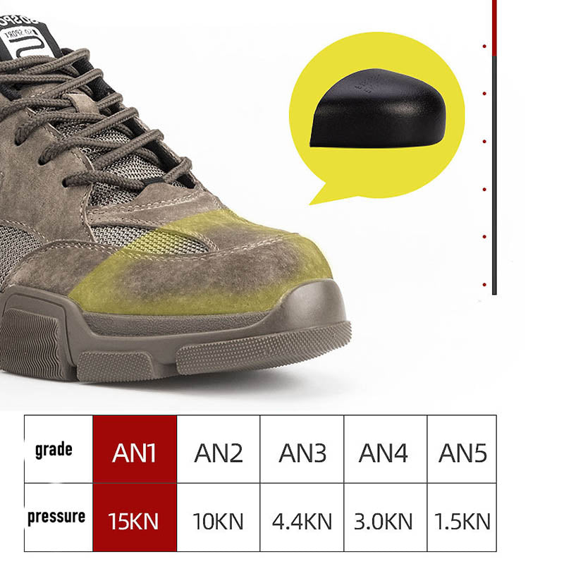 Mountaineering Anti-skid Light Defecation and Deodorant Safety Shoes