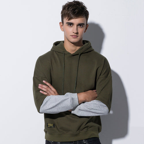 Loose Hooded Round Neck Thick Men's Hoodie