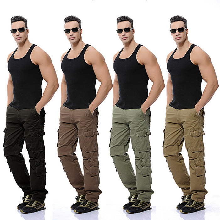 Fashion Military Multi-Pocket Tactical Men's Cargo Pants