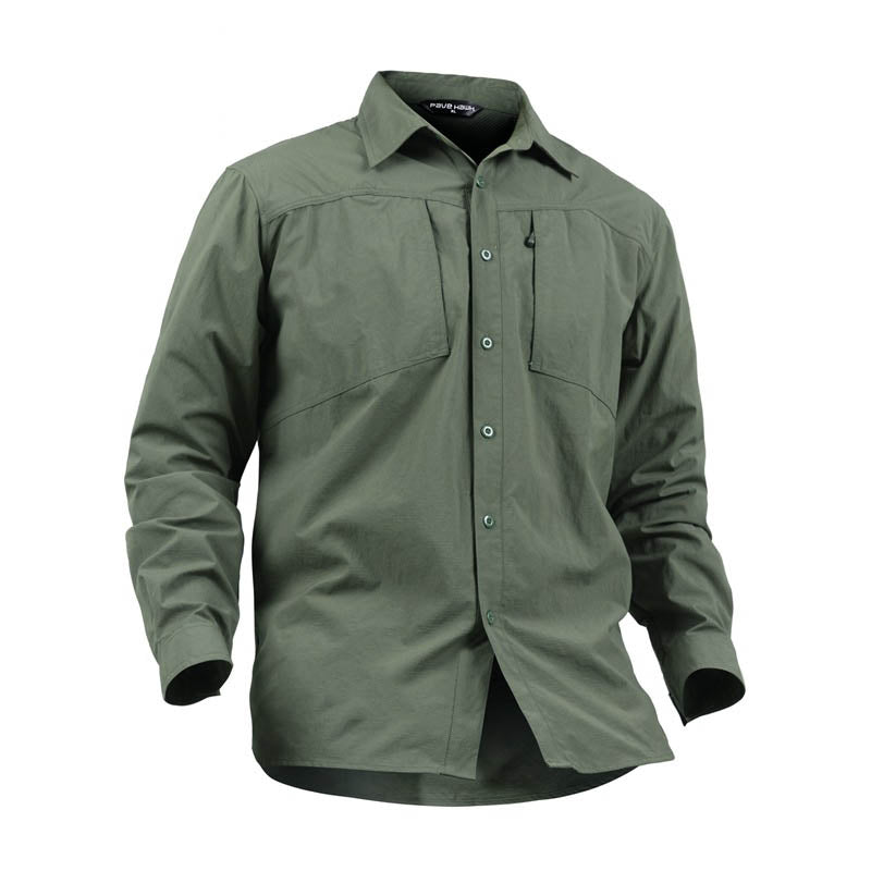 Tactical Military Quick-drying Solid Color Men's Shirt