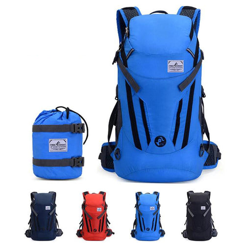 35L Waterproof Climbing Mountaineering Hiking Men and Women Backpack