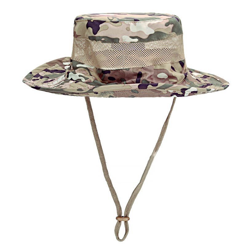 Tactical Rounded-edge Quick-drying Laced Cap