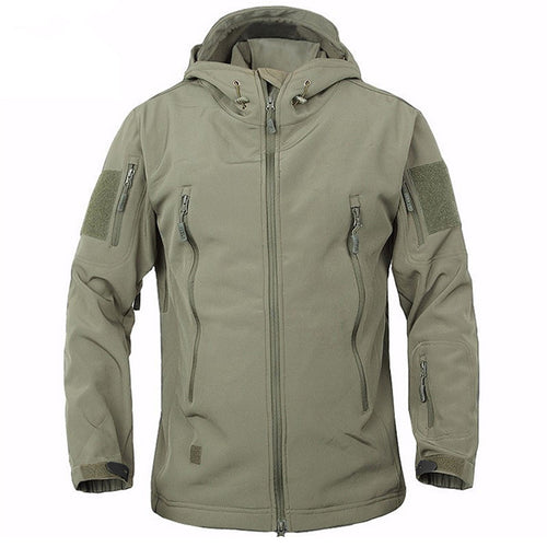 Plus Size Outdoor Waterproof Thicken 3-IN-1 Men's Jacket