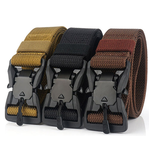 Military Equipment Tactical Belt Army Magnetic Buckle Military Belts
