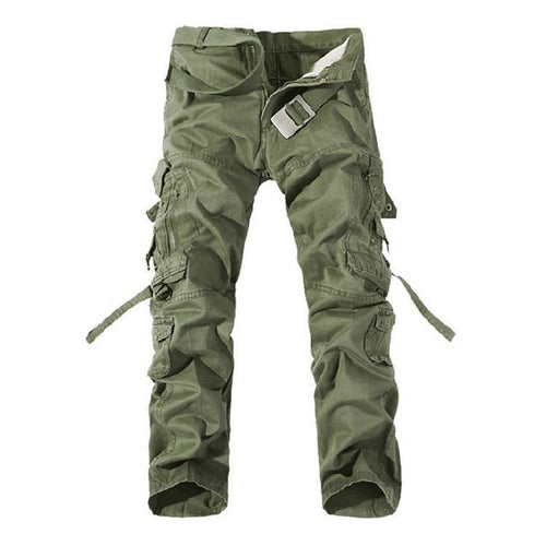 Casual Pockets Design Cargo Men's Pants