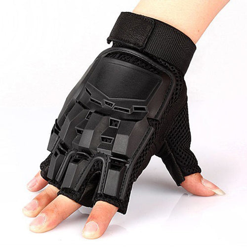 Super Cool Transformers Half Finger Tactical Gloves
