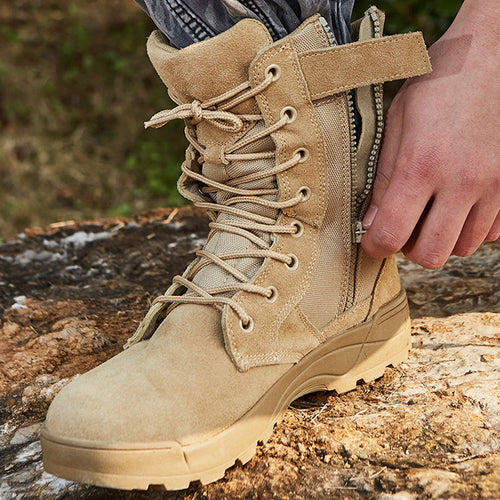 Hunting Climbing Work Tactical Military Non-slip Ankle Men's Boots