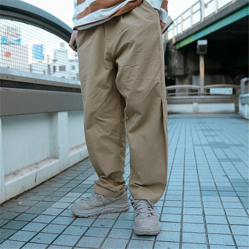 Casual Straight Retro Trend Loose Men's Pants