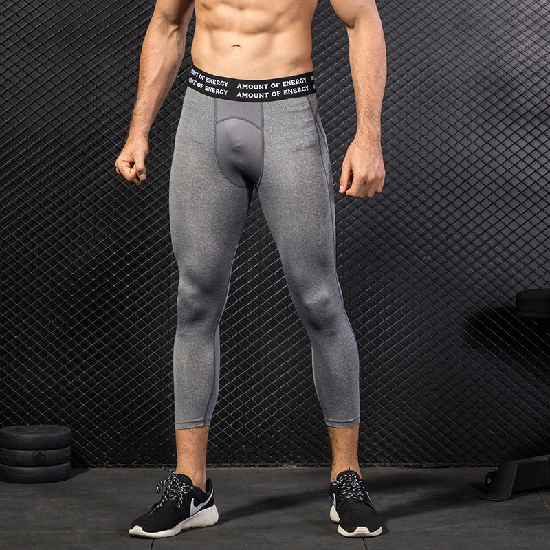 PRO Elastic Calf-Length Men's Sportswear Pants