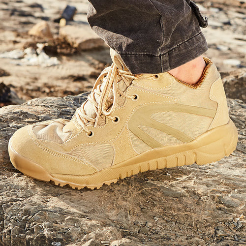 Outdoor Damping Ultralight Men Tactics Shoes