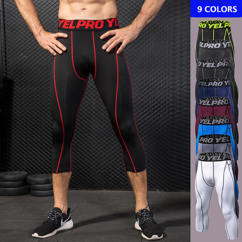 Sport Slim Calf-Length Men's Sportswear Pants