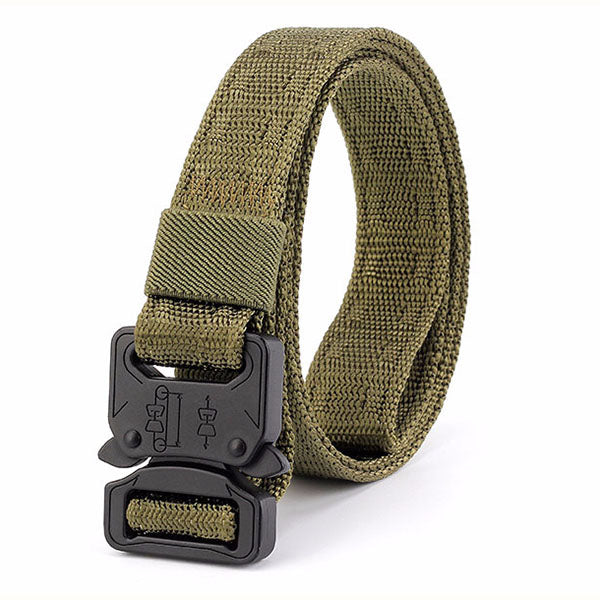 Simple Outdoor Canvas Tactical Belt(Thin Version)