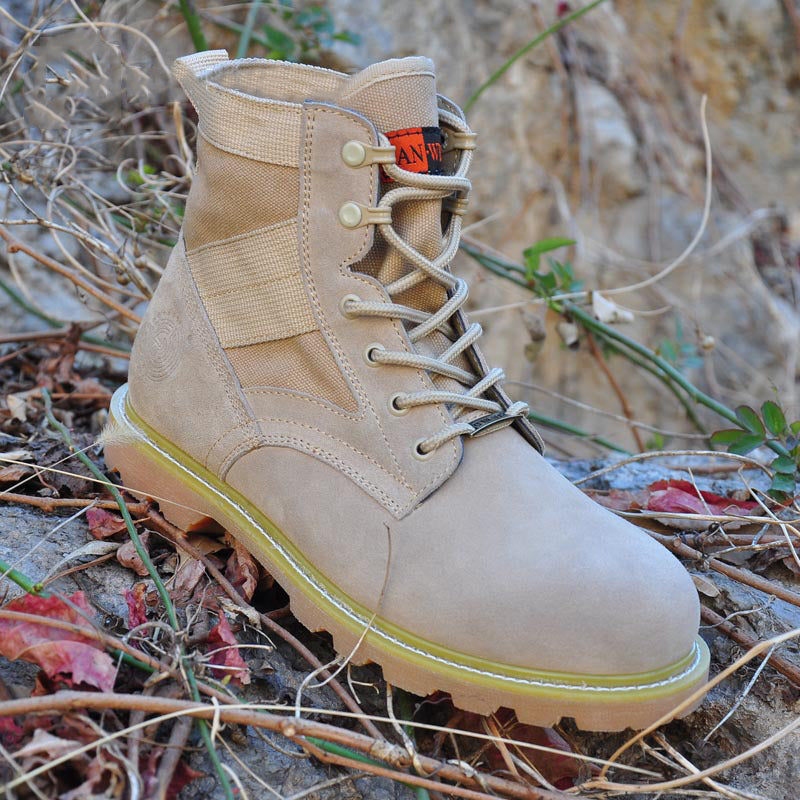 Casual Wear-resistant Desert Men's Martin Boots - KINGEOUS