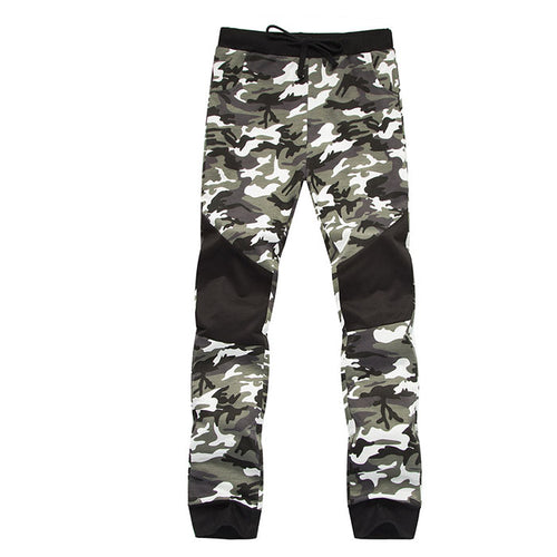 Fashion Sports Camo Split Joint Men's Pants