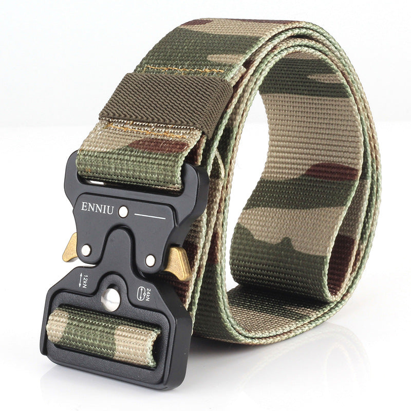 Tactical Nylon Multifunction Outdoor Waist Belt