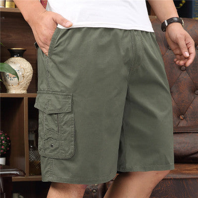 Extra Large Casual Loose Straight Sports Men's Shorts