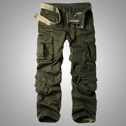 Causal Pockets Design Outdoor CottonMen's Pants