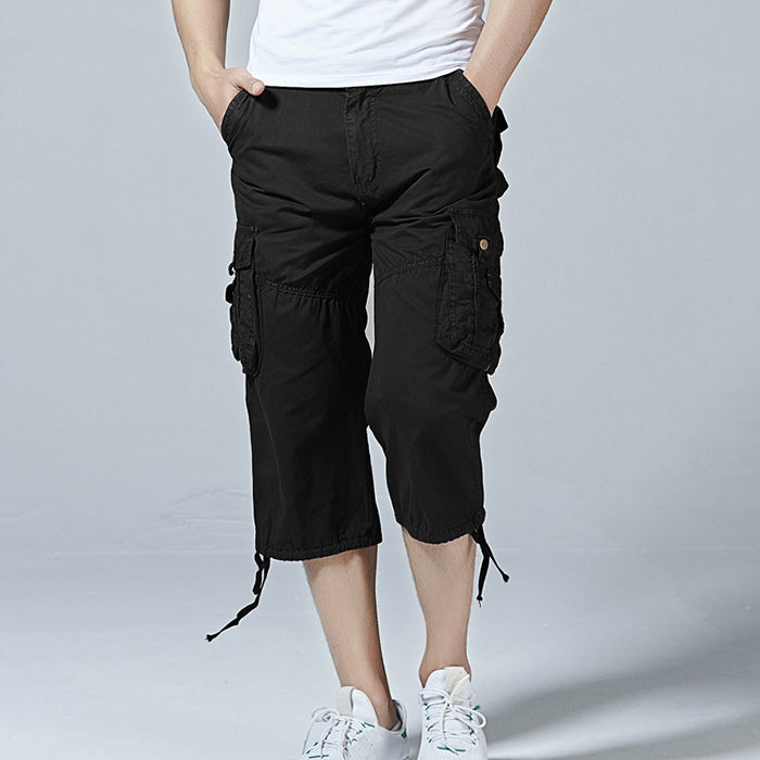 New Fashion Solid Color Men's Shorts