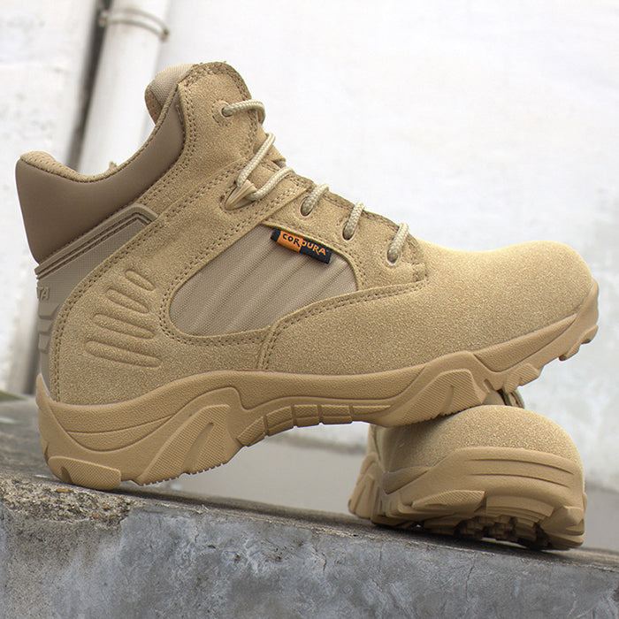 Military Style Special Forces Outdoor Hiking Men's Boots
