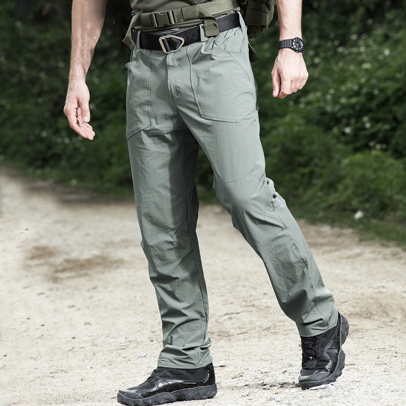 Outdoor Hiking Ultra-Thin Elastic Quick-Drying Men's Pants